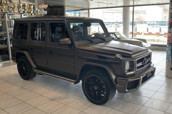 Mercedes-Benz G63 Exklusiv Edition