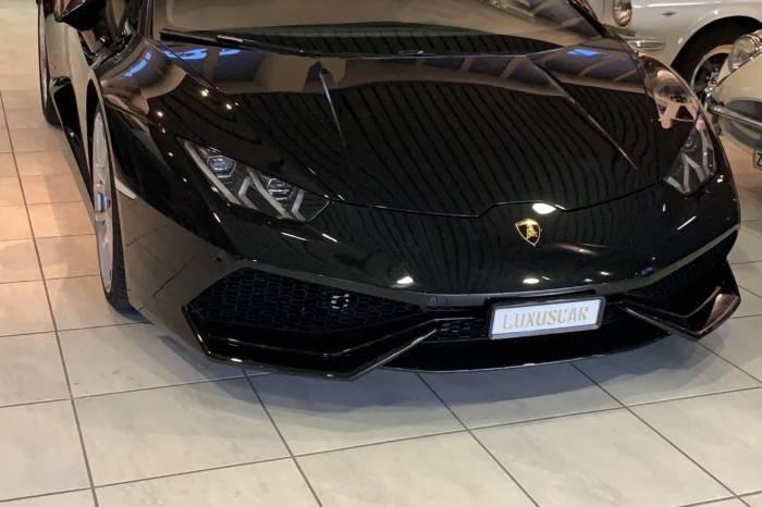 Lamborghini Huracán LP 610 Coupé Schwarz