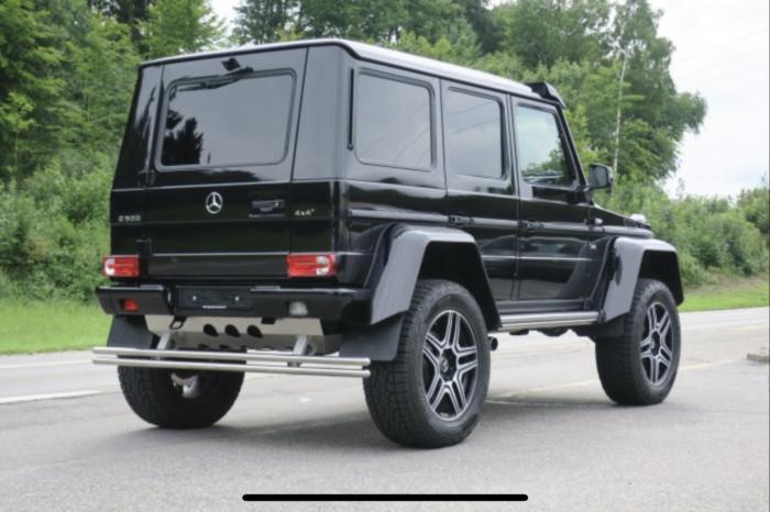 Mercedes G500 4×4 BRABUS